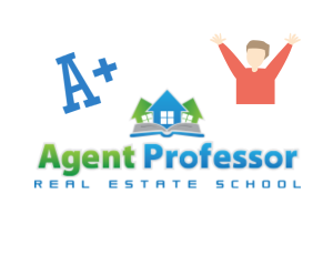 Agent Professor Utah Real Estate School Logo and Celebration