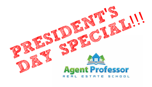 Utah Real Estate School President's Day Discount