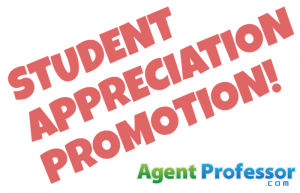 STUDENT APPRECIATION DISCOUNT