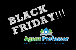 Utah Real Estate School Black Friday Promotion